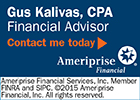 Gus Kalivas, CPA, Financial Advisor, Ameriprise
