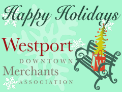 Happy Holidays from the Westport Downtown Merchants Association