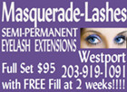 Masquerade-Lashes, 154 Main Street, Westport, CT (203) 919-1091